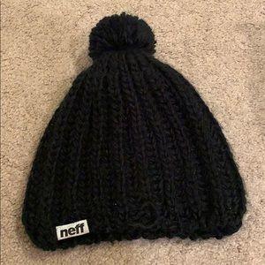 Neff Accessories - NEFF black beanie